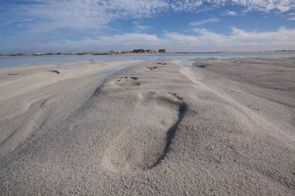 شاطئ الابيض بمرسى مطروح