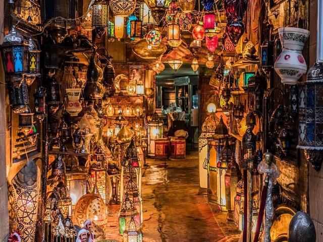 منطقة القصر مرسى مطروح بمصر