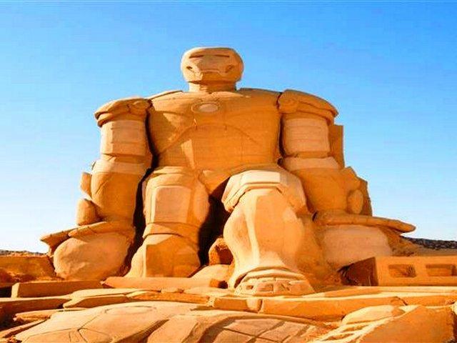 متحف الرمال بالغردقة مصر