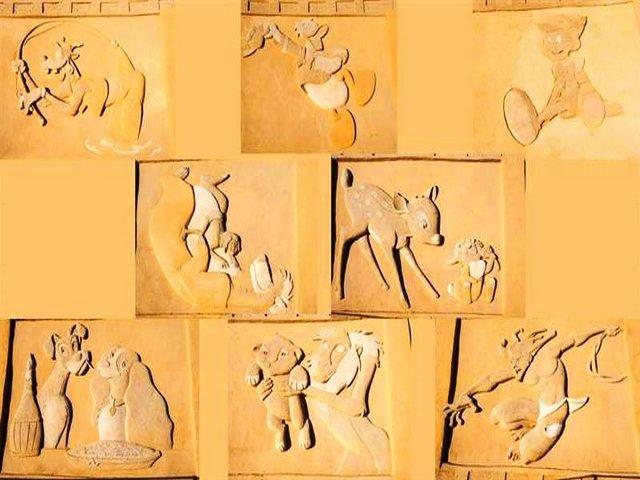 متحف الرمال بالغردقة بمصر