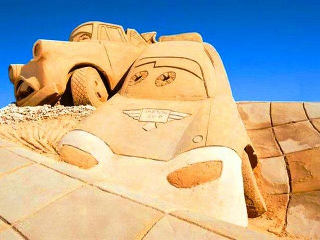 متحف الرمال فى الغردقة مصر