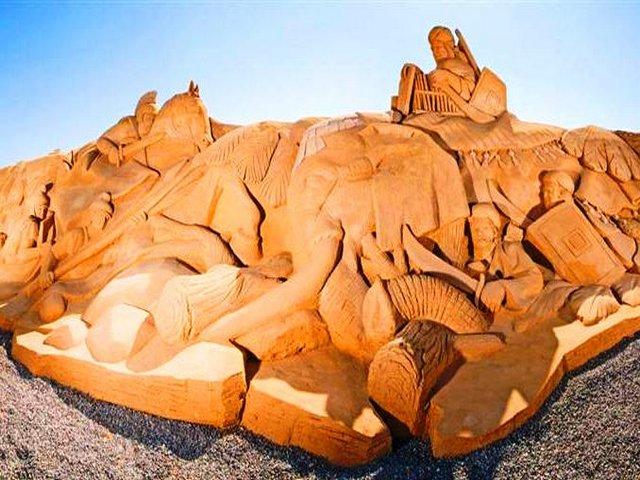 متحف الرمال الغردقة