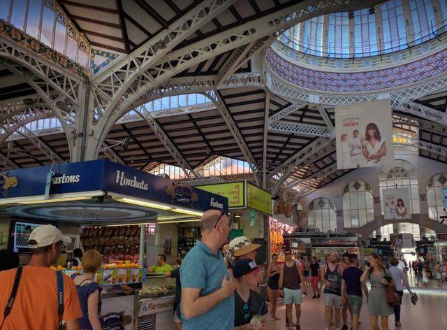 السوق المركزي في فالنسيا