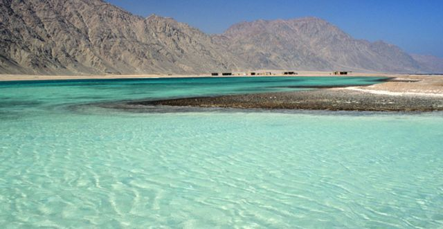 جزيرة دهب في مصر