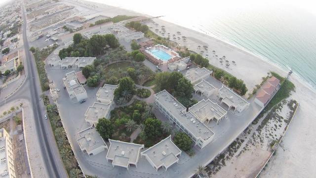 فندق شاطئ. ام القيوين