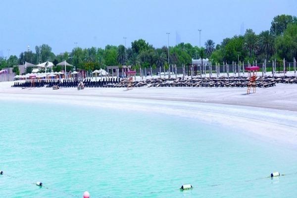 شواطئ ابوظبي للسيدات
