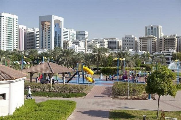 اشهر حدائق ابوظبي