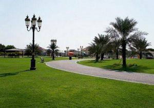 حديقة الراشدية في إمارة عجمان