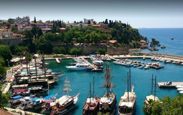 زيارة مدينة كاليتشي انطاليا في تركيا