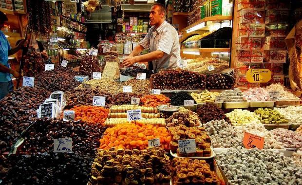 بازار مرمريس بتركيا