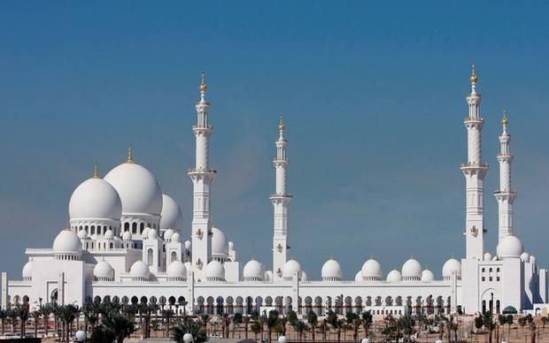 مسجد الشيخ زايد بالفجيرة