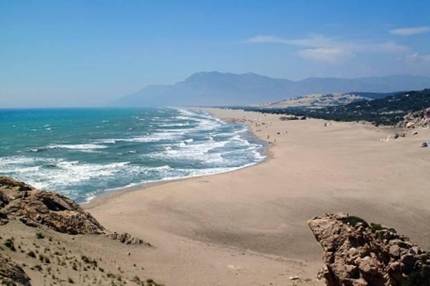 شاطئ مرمريس تركيا