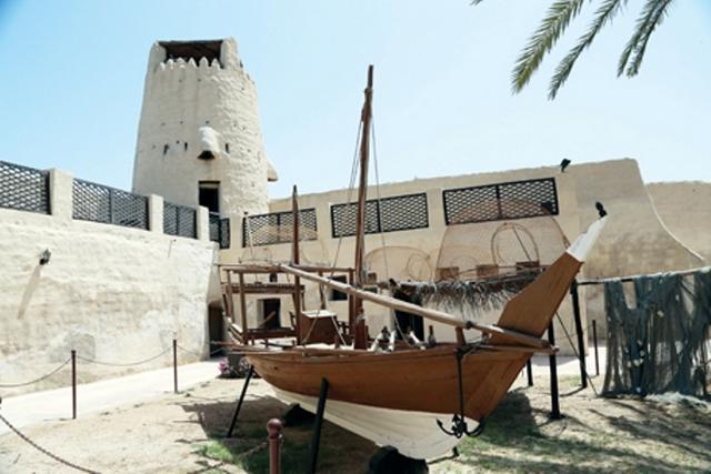 متحف ام القيوين في الامارات