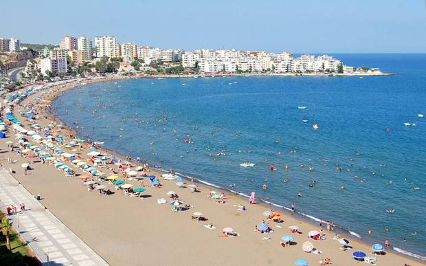 شاطئ مرسين