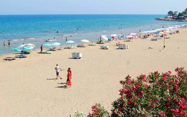 شواطئ مرسين