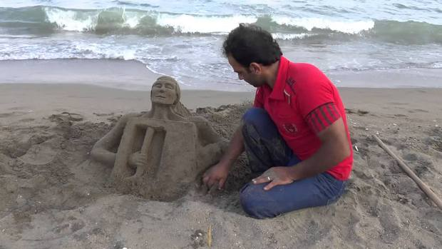 شاطئ مرسين تركيا