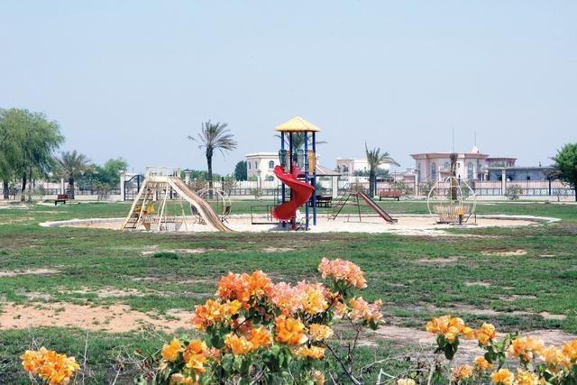 حديقة الشيخ زايد في ام القيوين