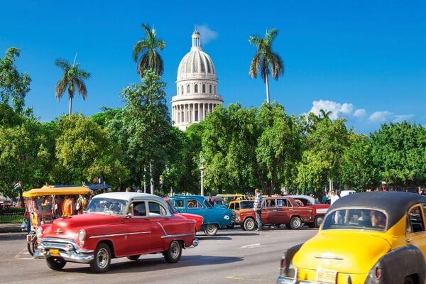 اين تقع دولة كوبا