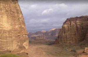 جبل اللوز تبوك بالسعودية