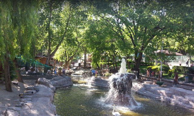 حديقة الحيوانات في انقرة تركيا