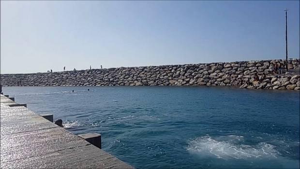 شاطئ الدالية في طنجة