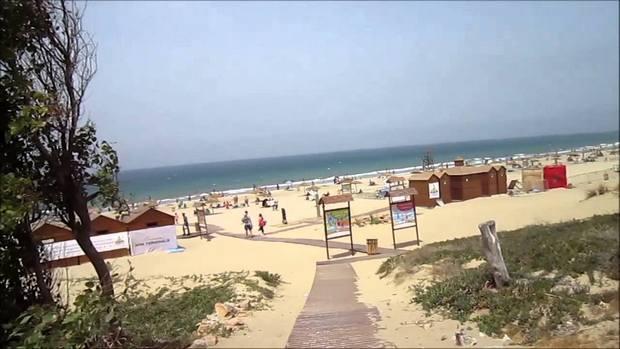 شاطئ الدالية طنجة بالمغرب
