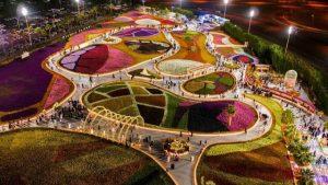 حديقة الزهور بينبع