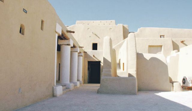 قصر صاهود من الداخل
