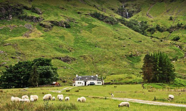 معالم السياحة في ريف اسكتلندا