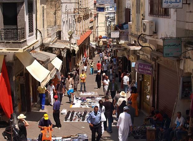 اسواق طنجة في المغرب