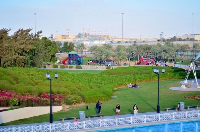 حدائق ابوظبي - المعالم السياحية في ابوظبي