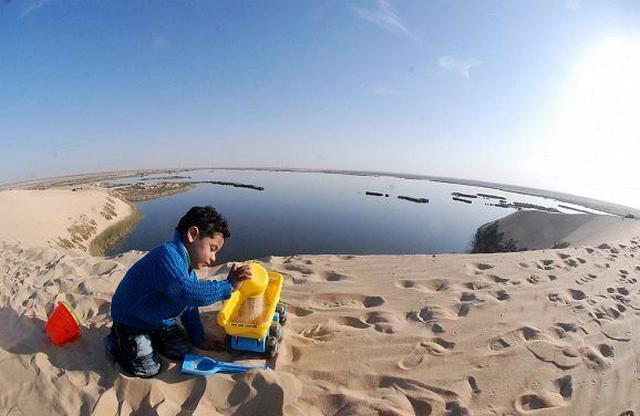 بحيرة الاصفر