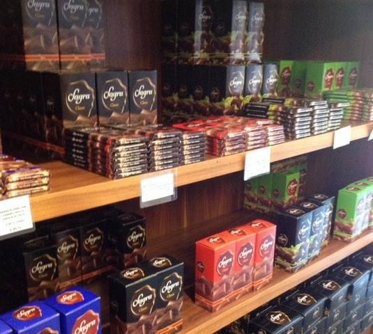 مصنع الشوكولاته في اوردو