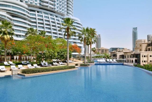 فندق ذا ادرس داون تاون دبي