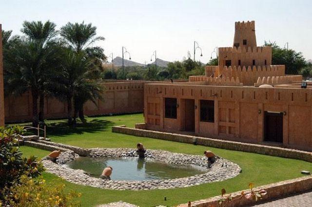 متحف قصر العين الامارات