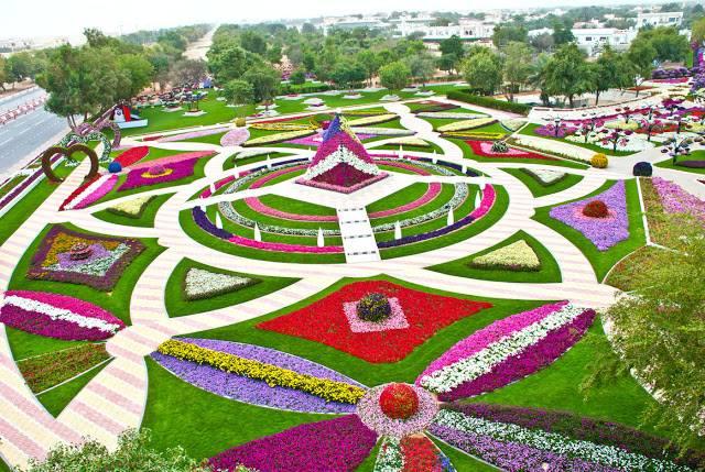 اجمل حدائق العين