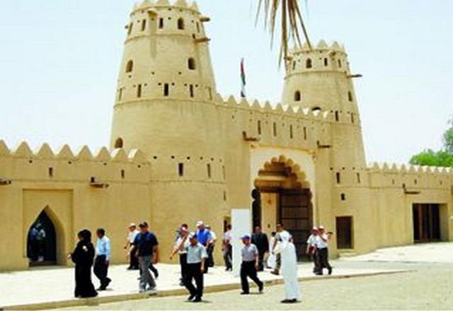 قلعة الحاهلي بالعين