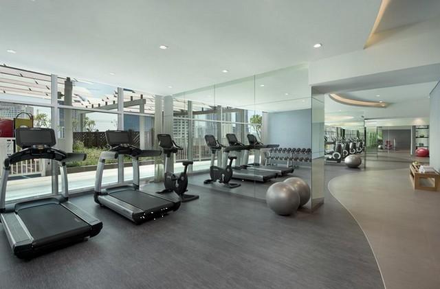 النادي الرياضي داخل فندق داماك ميزون في دبي