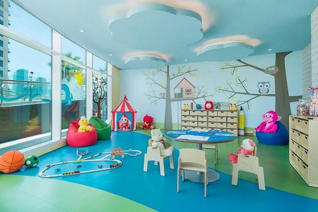 غرفة الألعاب الخاصة بالأطفال في فندق داماك ميزون رويال دبي