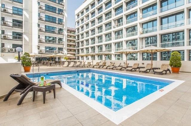 جولدن ساندس للشقق الفندقية في دبي
