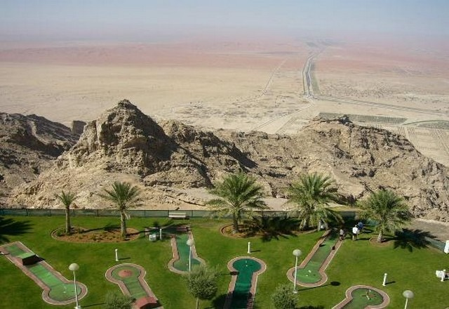 جبل حفيت العين الإمارات