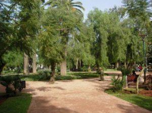 حدائق في الدار البيضاء