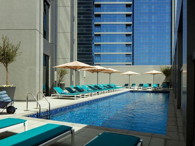 فندق روف مارينا دبي