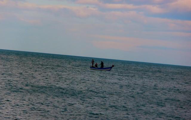 شاطئ سيدي عبد السلام تطوان المغرب