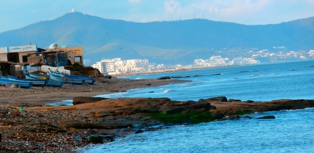 شاطئ سيدي عبد السلام في تطوان