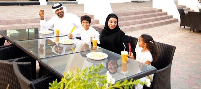 حديقة هيلي بالعين في الإمارات