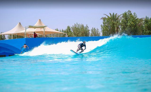 حديقة العاب مائية في العين ابو ظبي