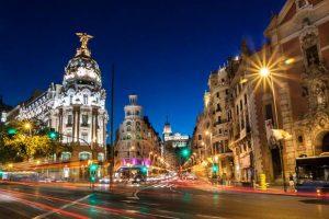 اين تقع مدريد في اسبانيا