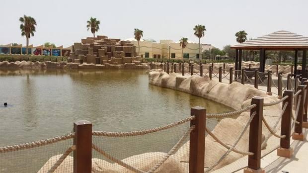 حديقة الخور قطر بحيرة