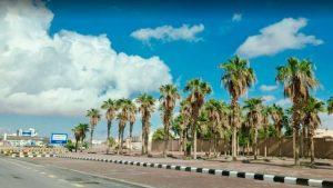 موقع مدينة عرعر في السعودية
